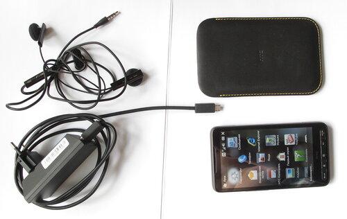 HTC HD2, комплект (неполный, тестовый)