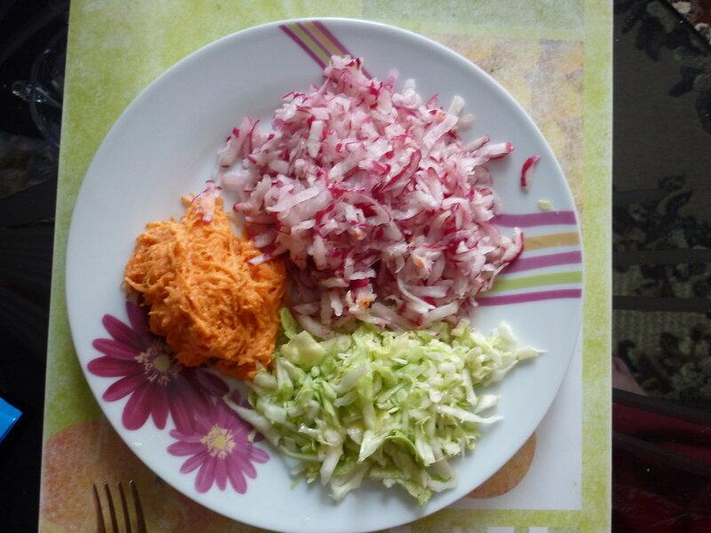 Витаминный салат.