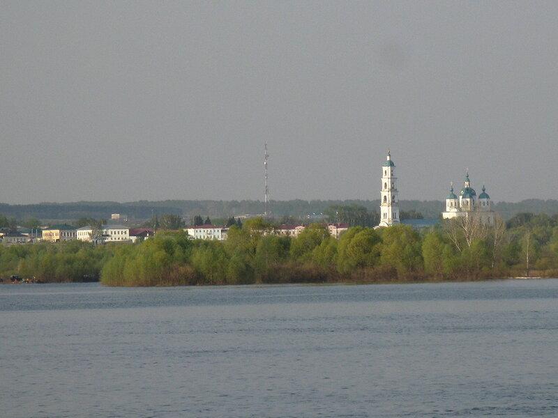Елабуга. Спасский собор и колокольня