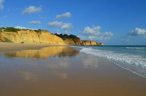 отражения на песке