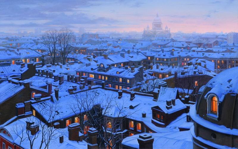Евгений Лушпин — один изсамых популярных италантливых художников современности. Его работы восхищ