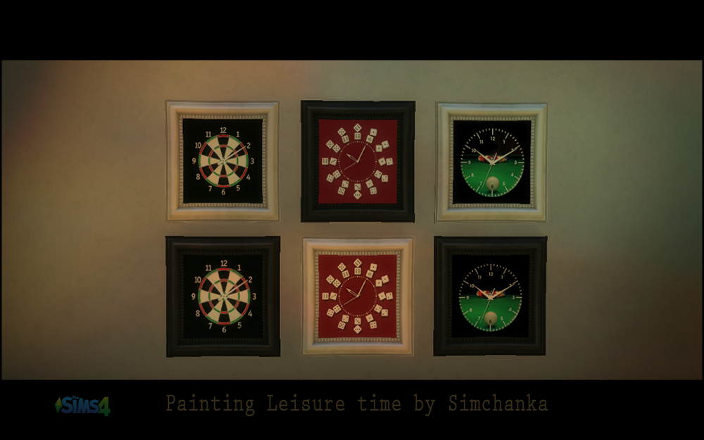Painting Leisure time by Simchanka
