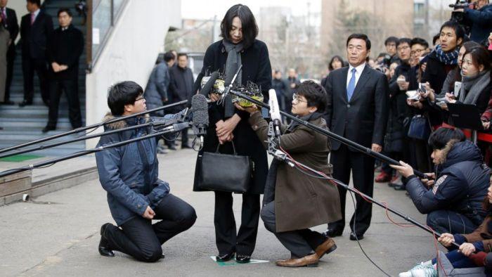 наказание дочери президента авиакомпании Чо Ян-хо