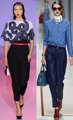 Модные брюки осенью
