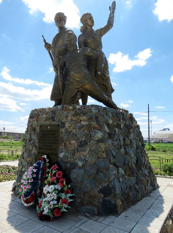 Эконом памятник Волна в камне Южная Мраморный голубь Новосиль
