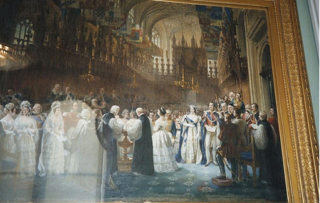 Крещение Его Королевское Высочество Принц Уэльский  обращается 1 842