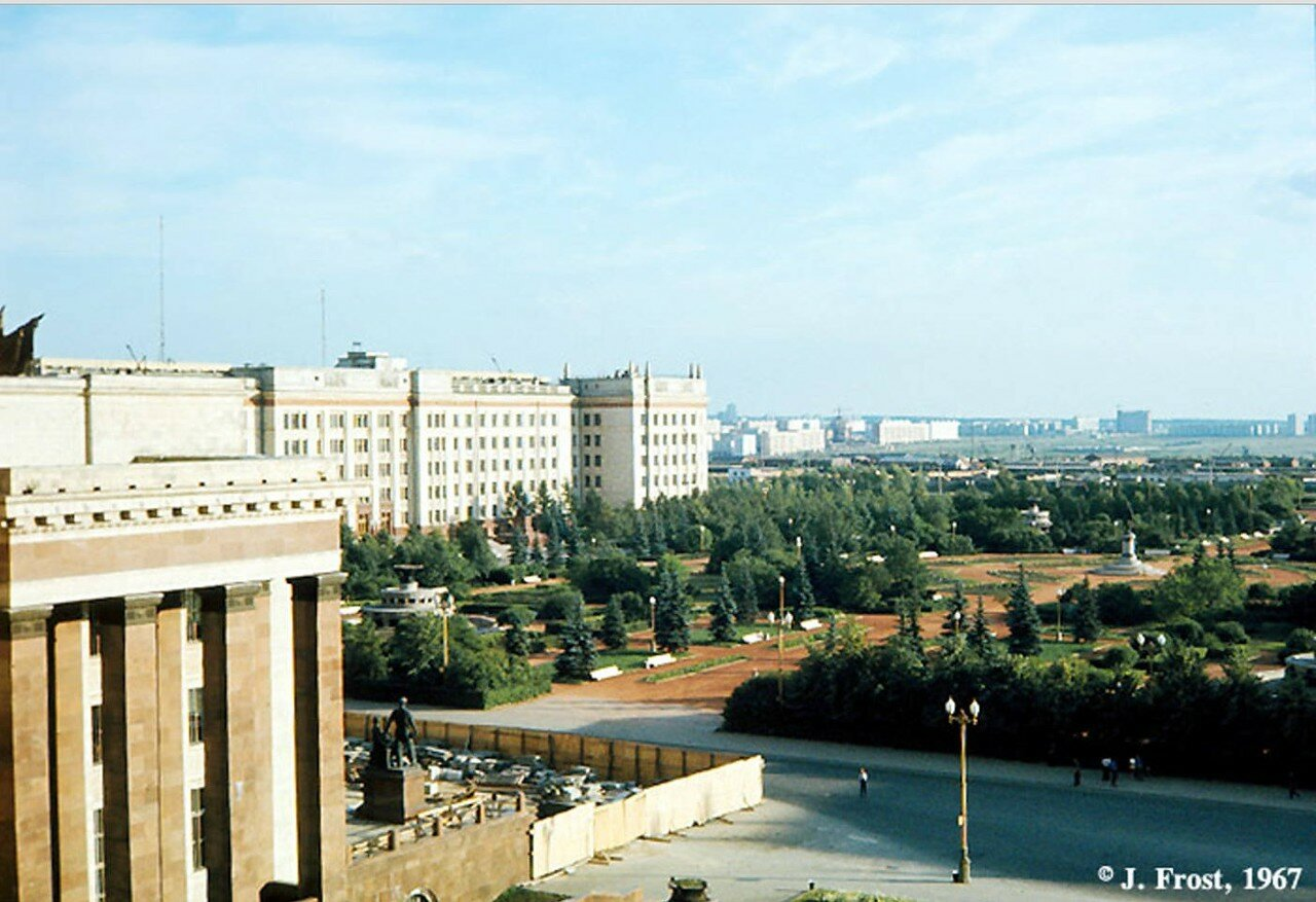 1967. Москва. МГУ