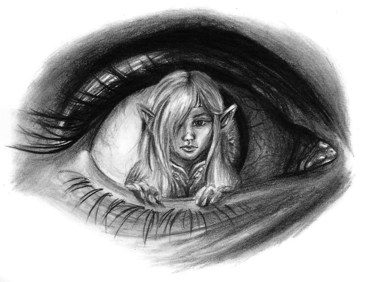 Sara Stachowiak - рисунки карандашом