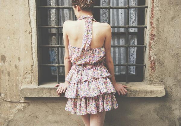 Платья со спины фото на аву в вк
