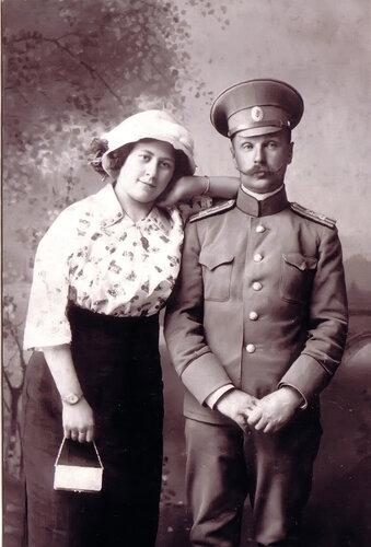 алексей анддреевич адо и клавдия адо -самара 1910
