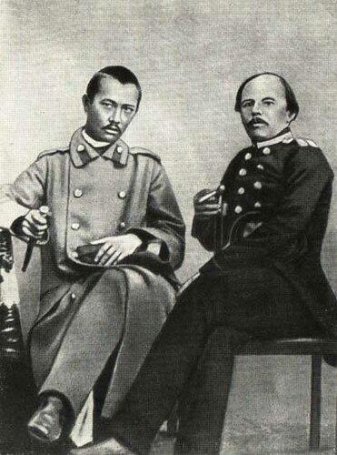 Чокан Валиханов и Фёдор Достоевский