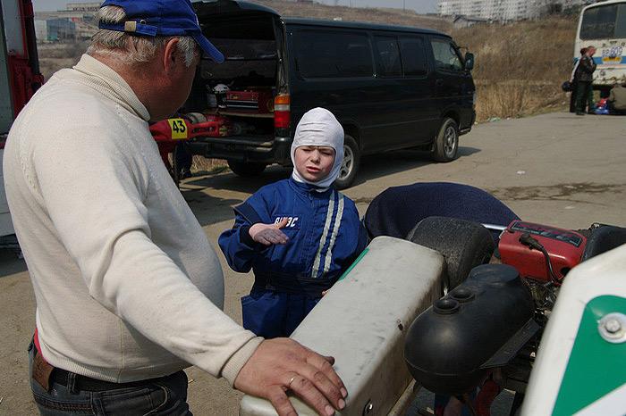 Первенство Владивостока по картингу (35 ФОТО)