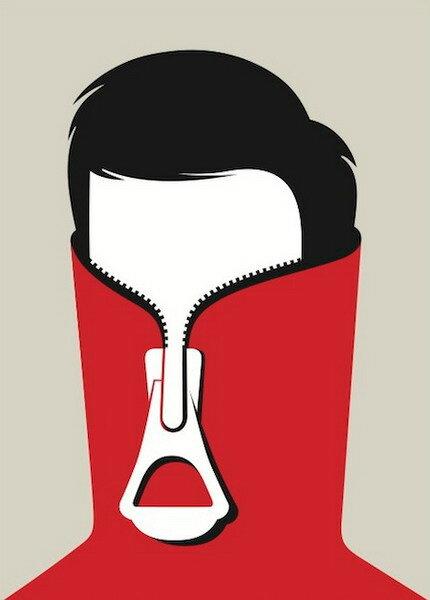 иллюстратор Нома Бар  (Noma Bar),