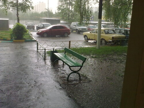 Москва. Гоза. Май