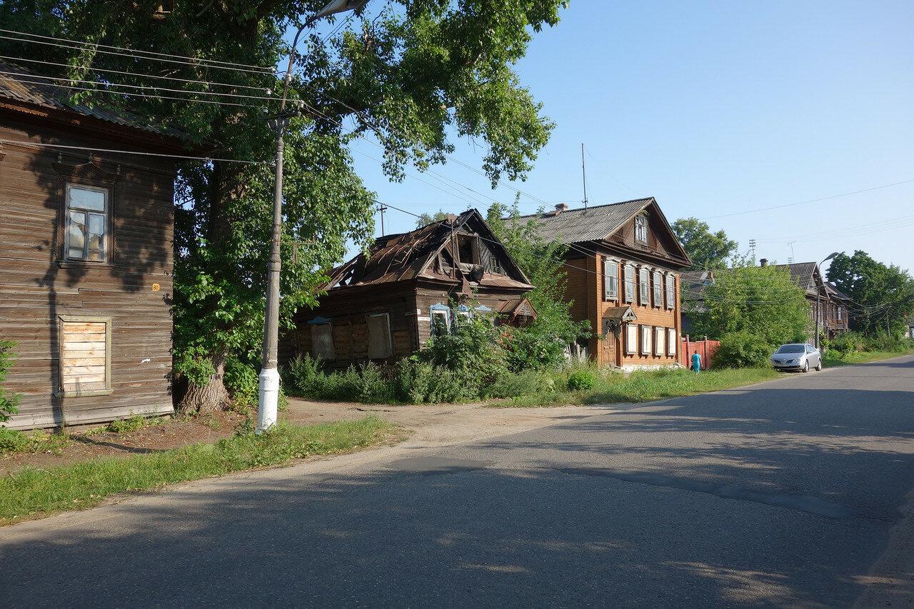деревянная улица