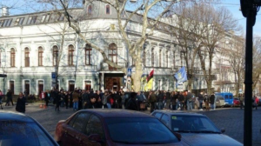 Одесские патриоты сопротивляются назначению прокурора-коррупционера