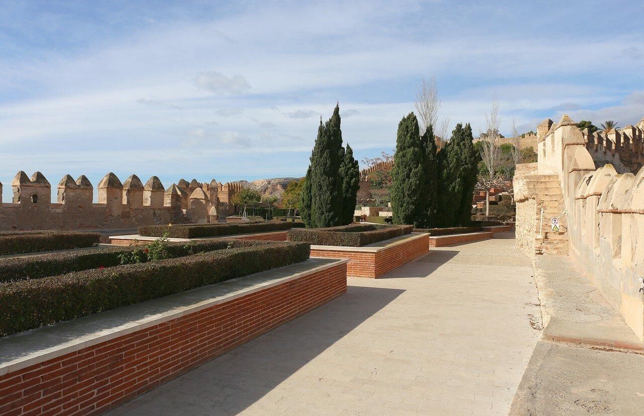 Almeria Alcazaba fortress (Alcazaba de Almería)