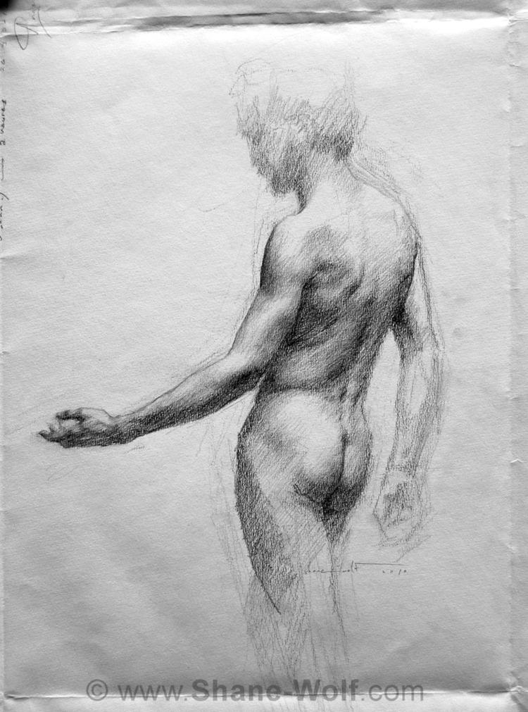 Shane Wolf / Шейн Вульф - мастер, прославляющий красоту человеческого тела