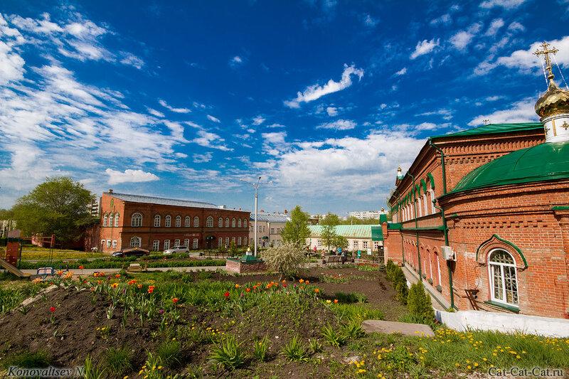 Ульяновское училище культуры, Храм во имя Сошествия Святаго Духа на Апостолов
