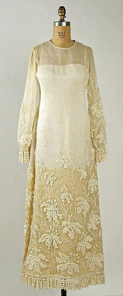 62. 1964 г. Marc Bohan для Dior.