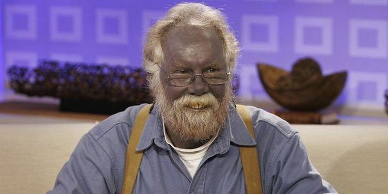 Синий человек Пол Карасон