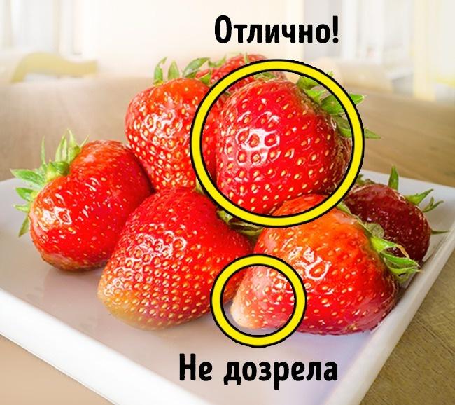 © depositphotos.com  «Правильная» клубника должна быть ярко-красной ислегка блестящей. Кягод