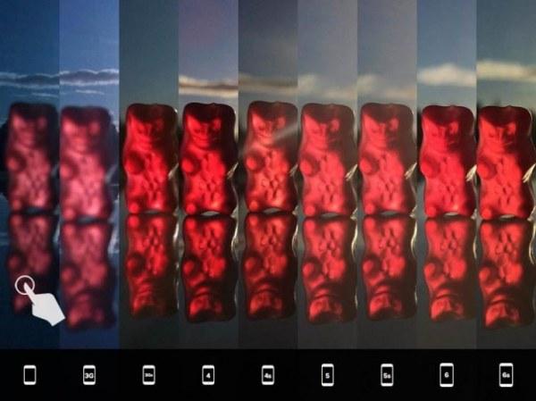 Макро + контровой свет (детально)
