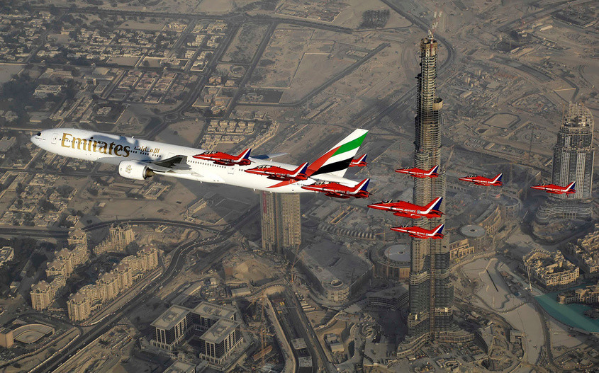 Даже Бэтмен отдыхает в Дубае