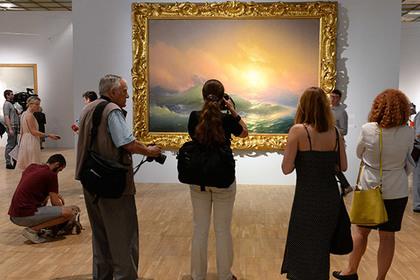 Выставку Айвазовского в столице посетили практически 55 тыс. человек