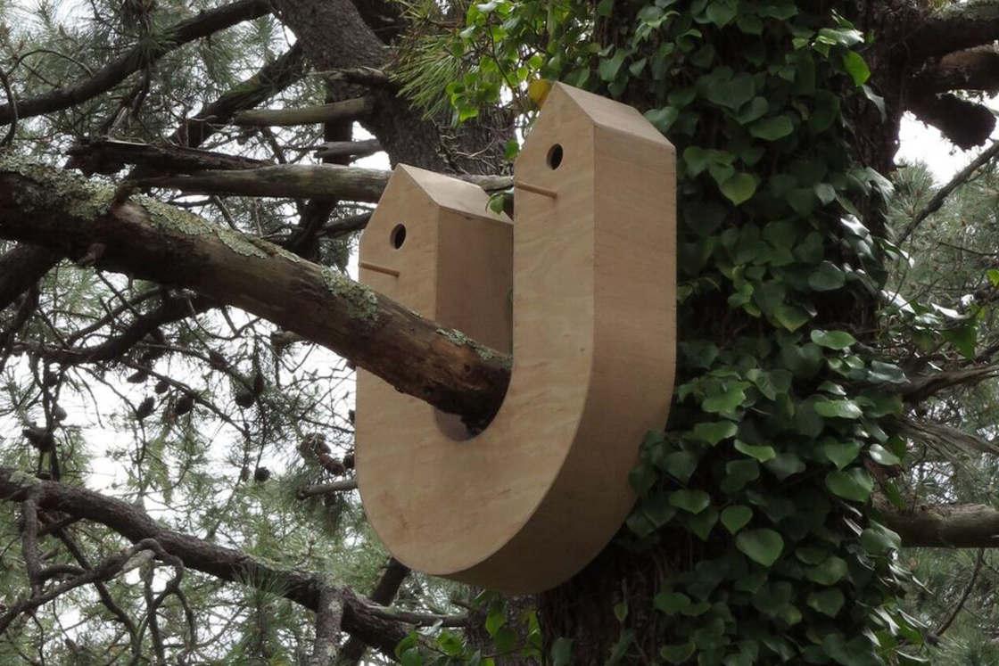 Creative Birdhouses - When two designers imagine birdhouses