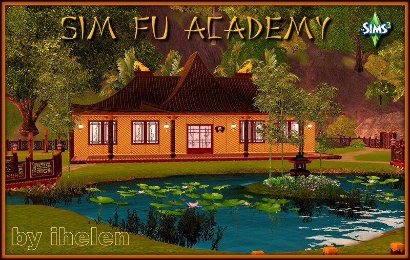 Sim Fu Academy by ihelen