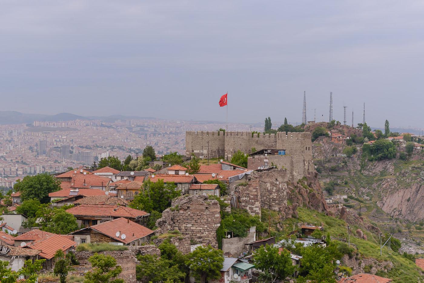 Фото 28. Вид на замок в столице Турции. Поездка в Анкару из Стамбула. 1/250, 7.1, +0.67, 1000, 70.