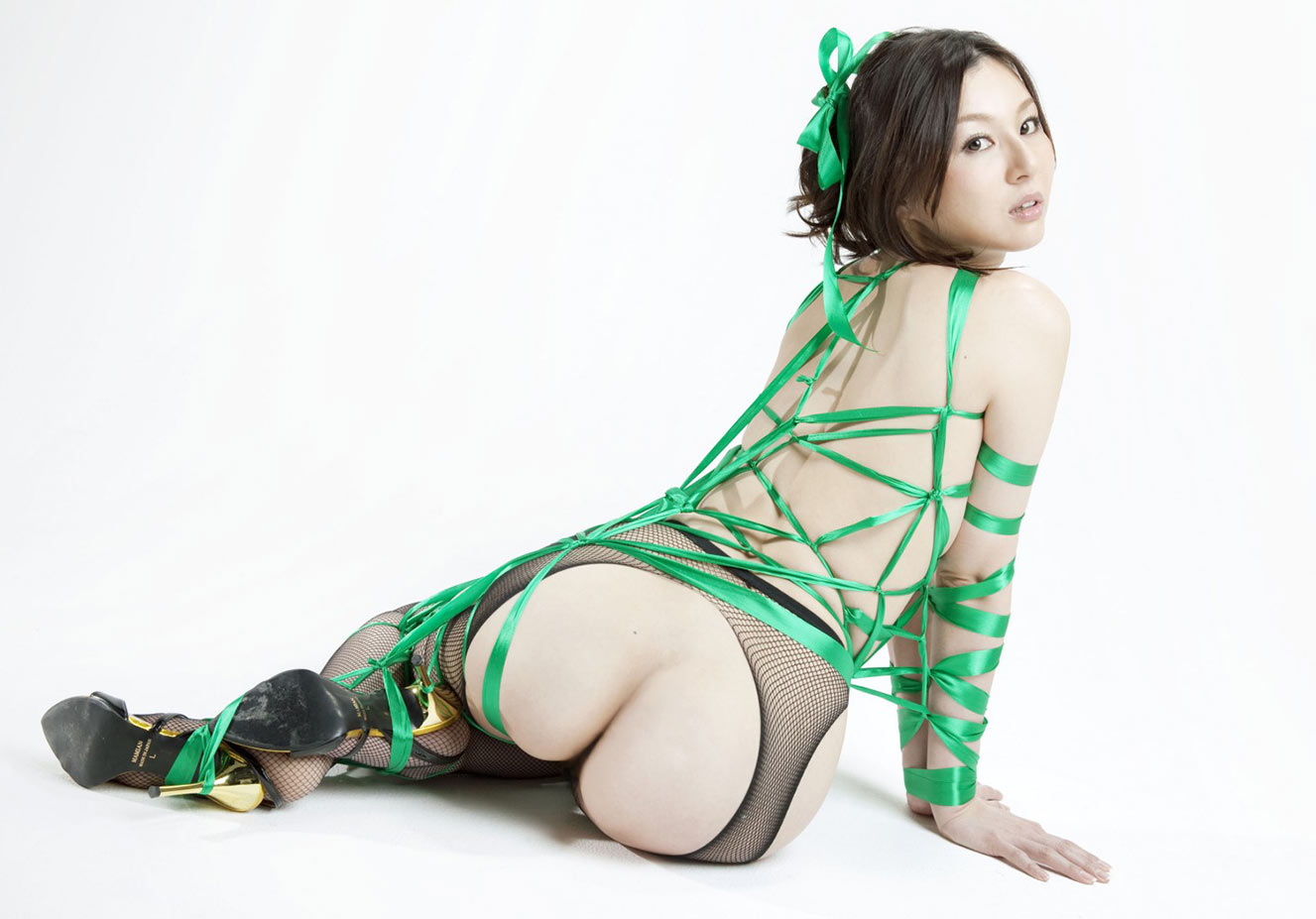 Японское искусство связывания шибари / Shibari-art - Green Label by Hajime Kinoko