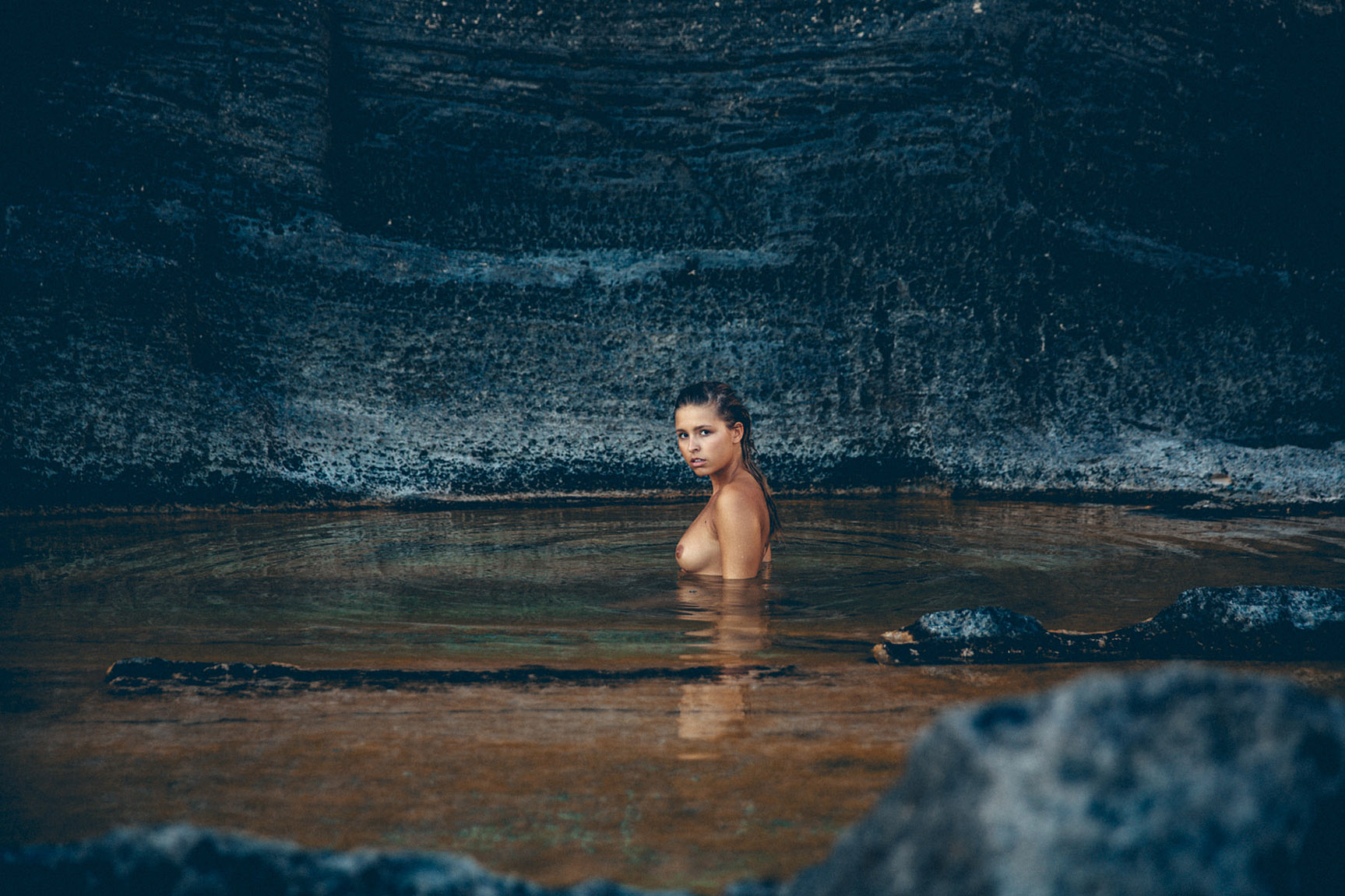 Жительница Атлантиды - Мариса Папен / Marisa Papen by Jorg Billwitz - Atlantis / P Magazine #4