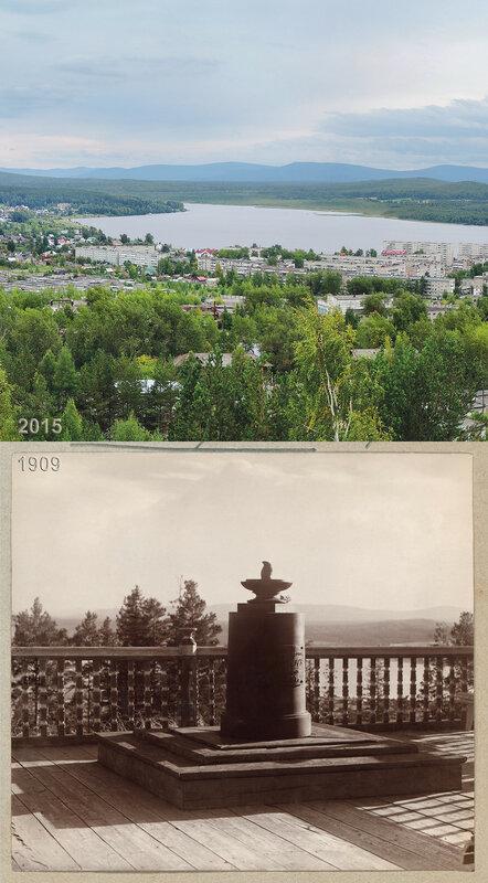 Памятник на вершине г. Благодать вогулу Степану Чумпину.