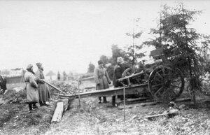 1915. Наша артиллерия