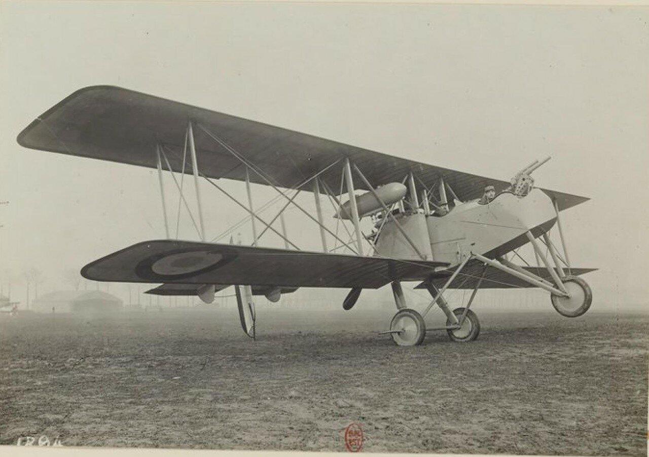 09. «Бреге» Br.17, двухместный истребитель