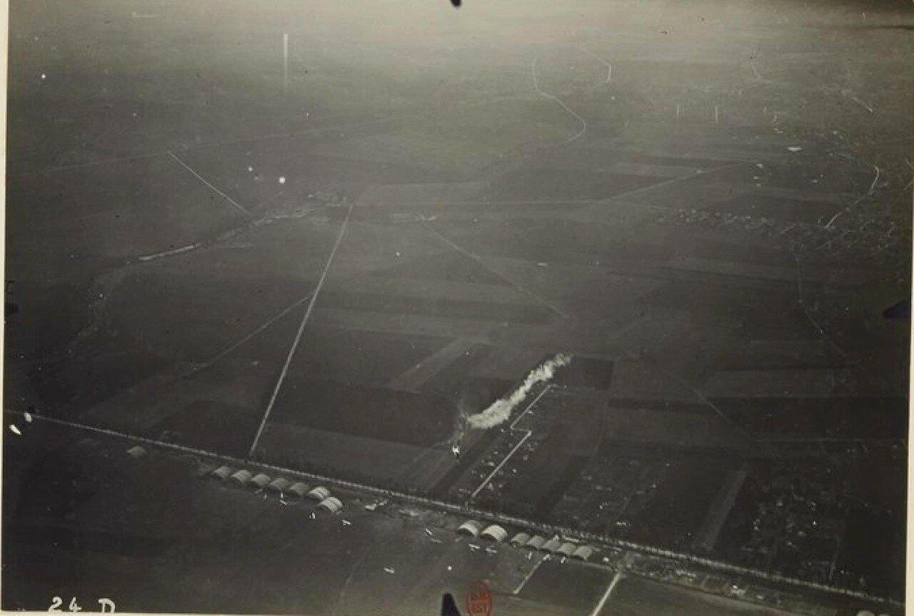 16. Последствия атаки торпедой (fusées-torpille) аэростата BCA