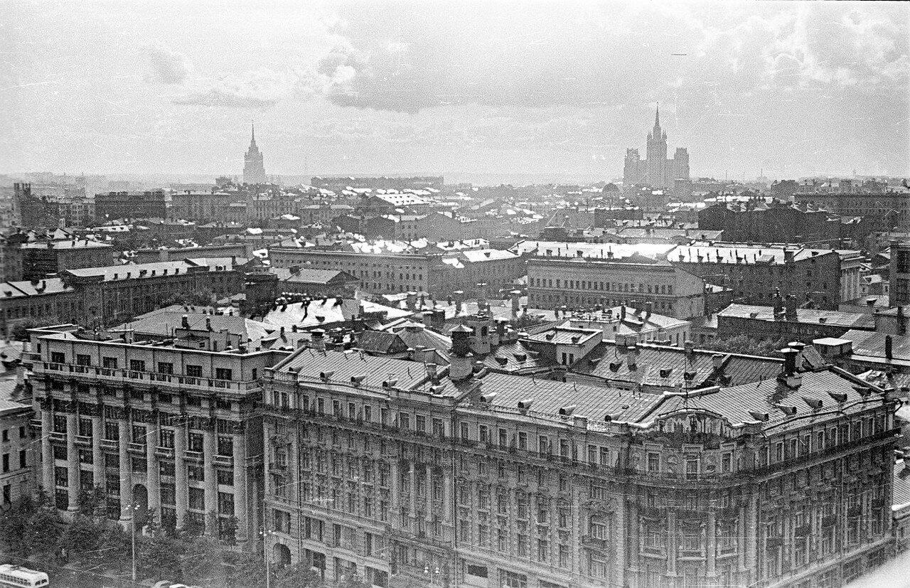 Вид из гостиницы «Москва»