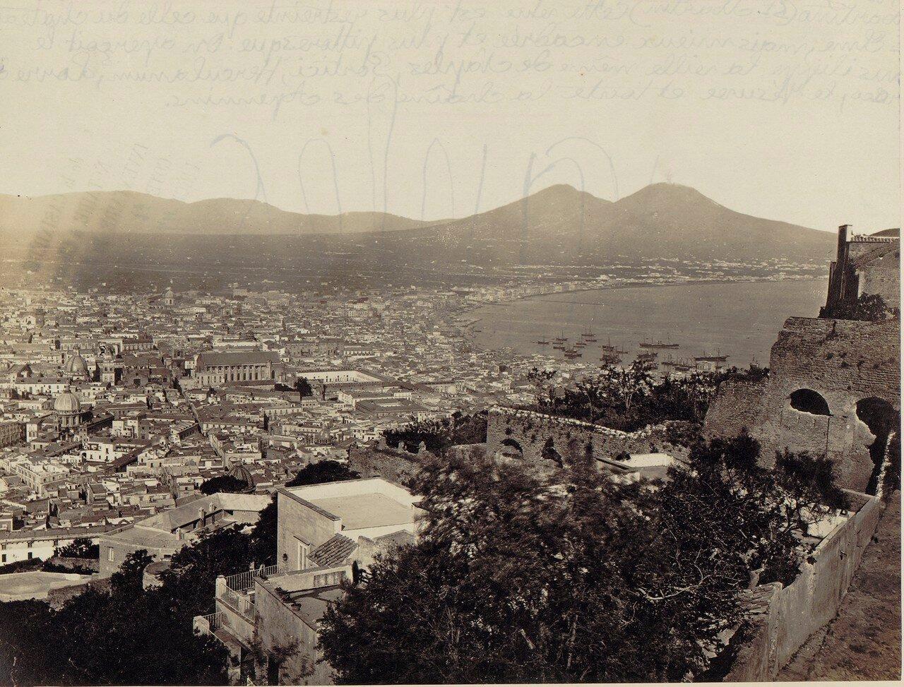 03. Вид на Неаполь, Везувий и Апеннины