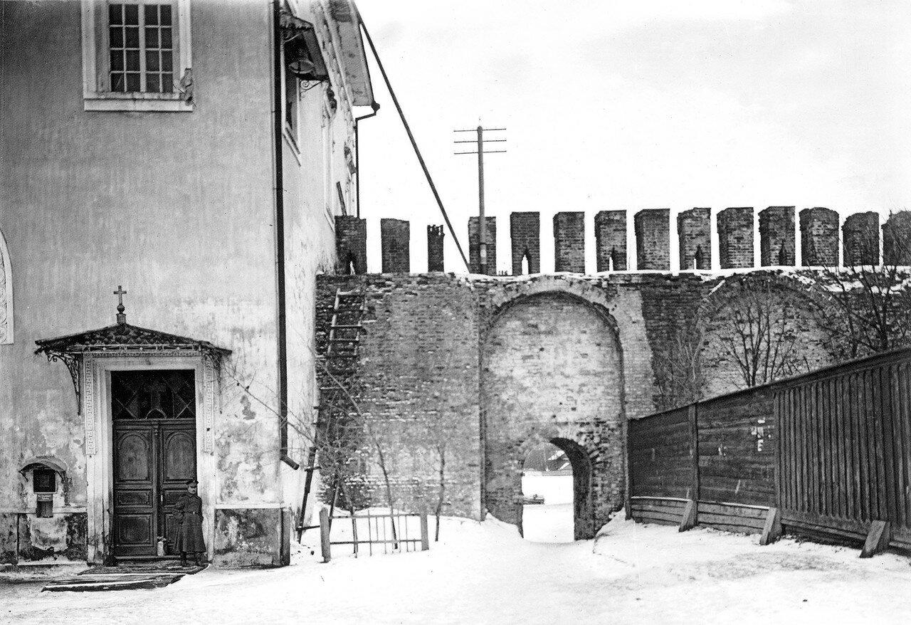 Калитка в крепостной стене у Молоховских ворот. 1903