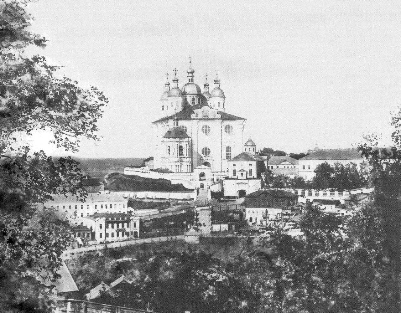 Соборная гора и Троицкое шоссе. 1890—1900