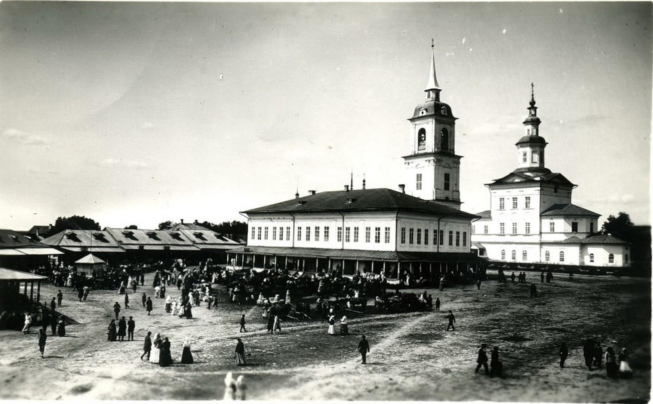 Здание городской управы, Сретенская церковь