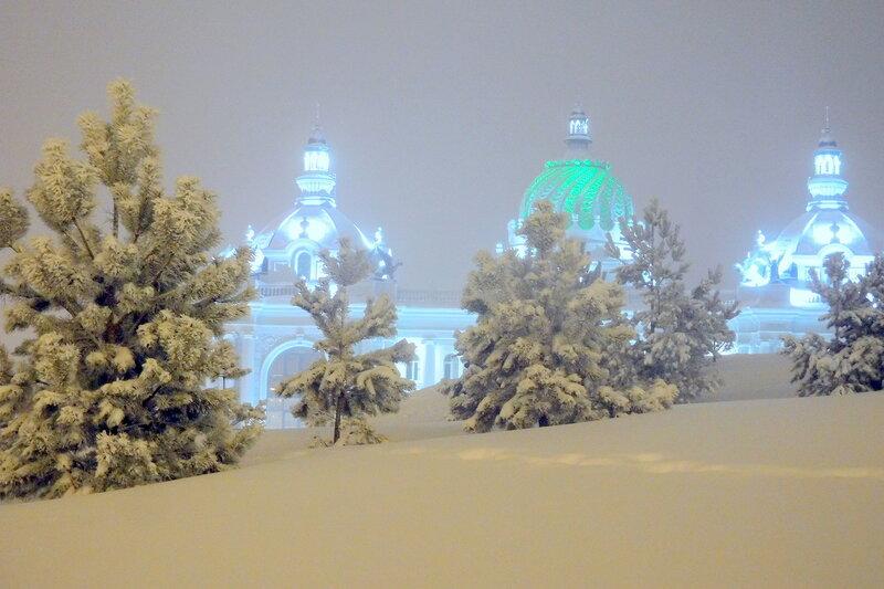 Казань снежная