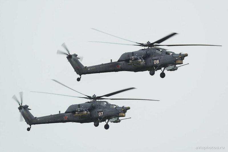 Миль Ми-28Н (RF-95320 / 08 белый) ВКС России 031_D803901
