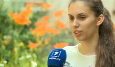 """Единственная в Молдове сдала все экзамены БАК """"на отлично"""""""