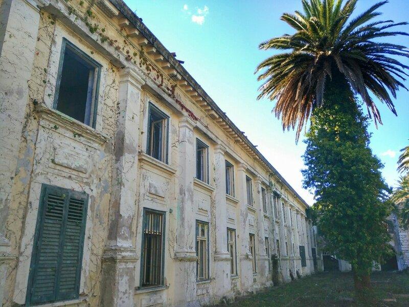Купари, заброшенный санаторий , Хорватия
