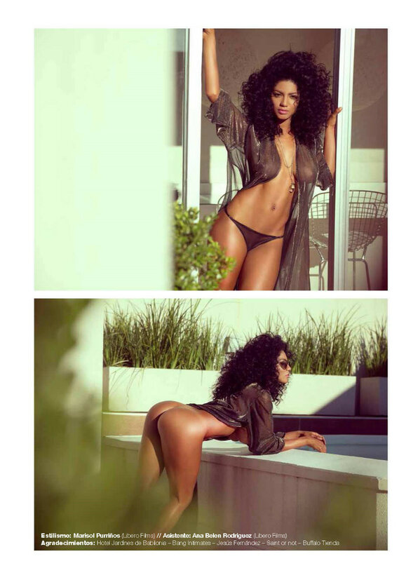 Kate Rodriguez in Playboy Argentina