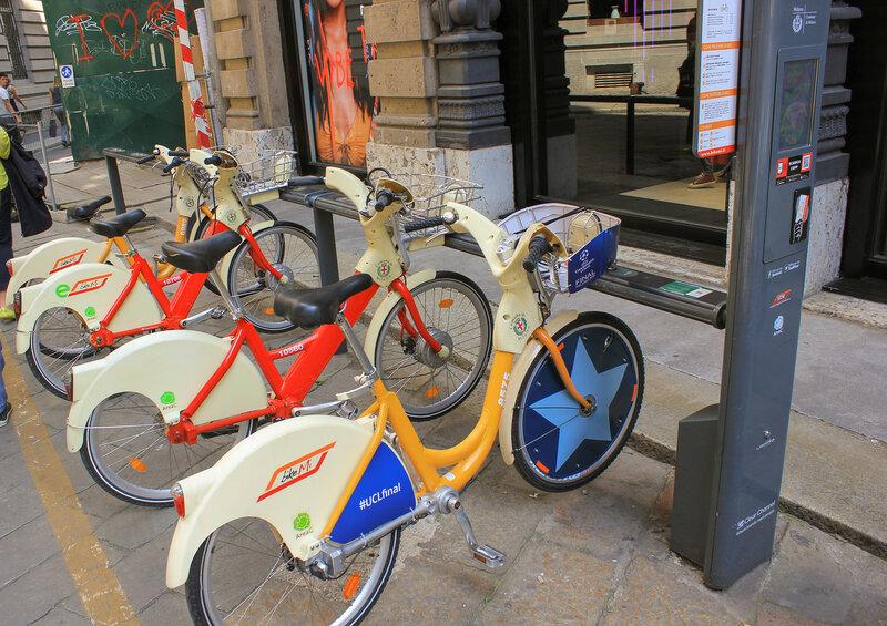 Городские велосипеды, можно брать в прокат