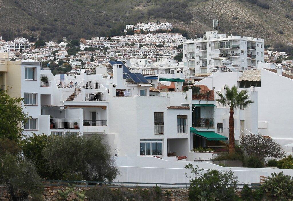 Нерха. Побережье. Вид с Балкона Европы